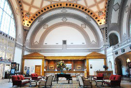 Lobby at the Chattanooga Choo Choo