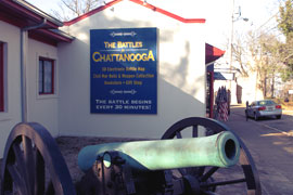 Battles for Chattanooga Electric Map & Museum