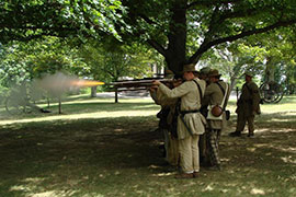 Soldiers shooting