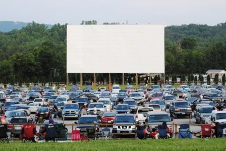 Watch a Movie at the Drive-In Theater