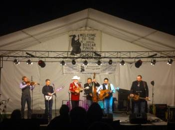 Boxcar Pinion Memorial Bluegrass Festival