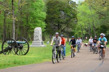 Chickamauga Battlefield Bike Ride
