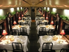 TN Valley Railroad's Christmas Special Dinner Train