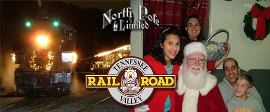 Tennessee Valley Railroad's North Pole Limited Adventures